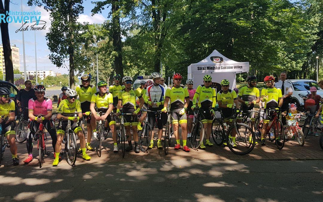 Mocny trening do Lipian, a na koniec warsztaty rowerowe dla dzieci :)
