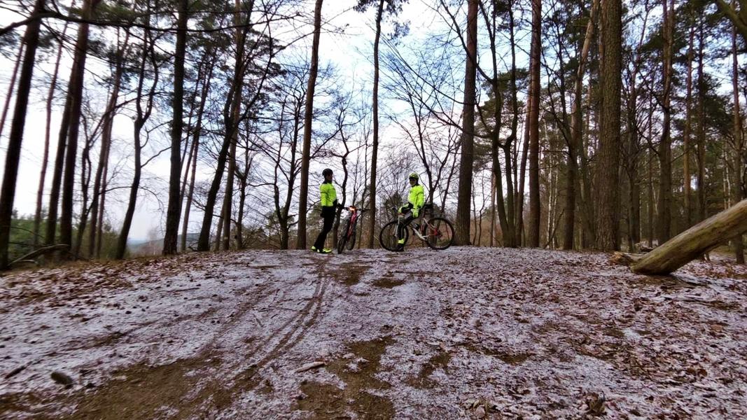 Przełaje w Słubicach i niedzielny trening  po bogdanieckich lasach = zjazdy i podjazdy :)