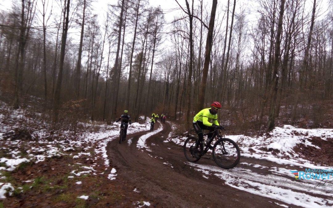 Niedzielny trening w Bogdanieckich lasach