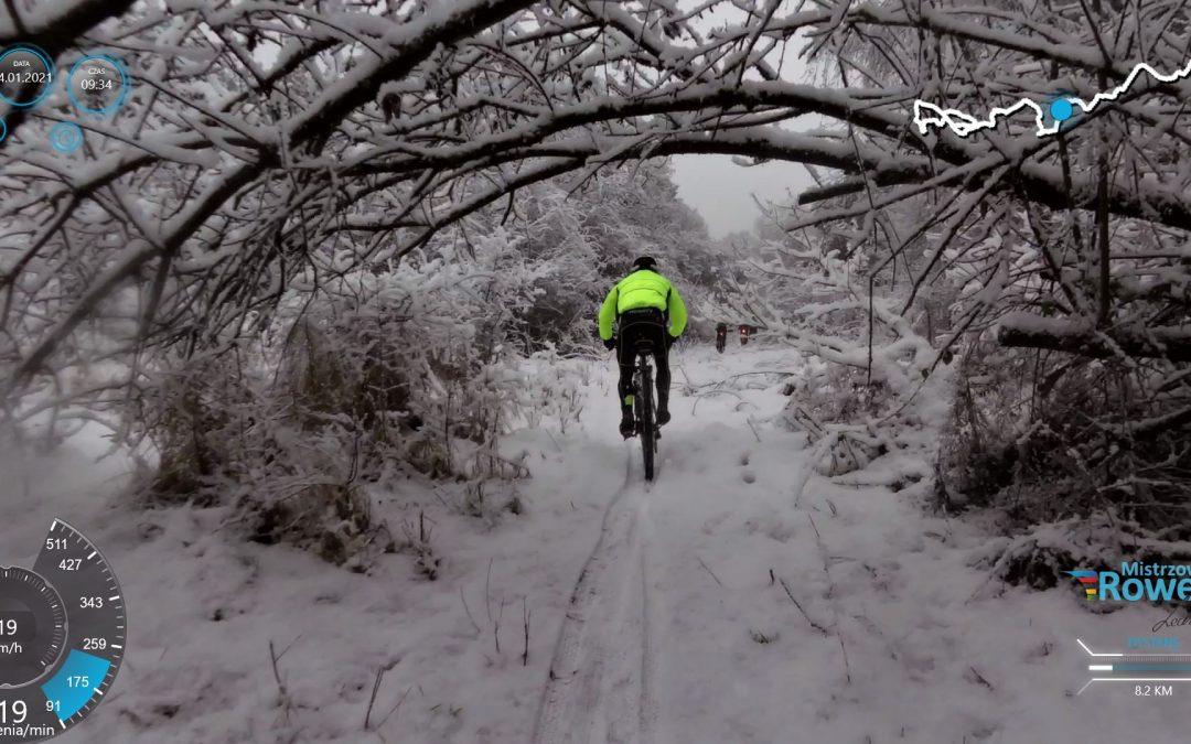 Zima nie odpuszcza – niedzielny trening Mistrzowskich Rowerów