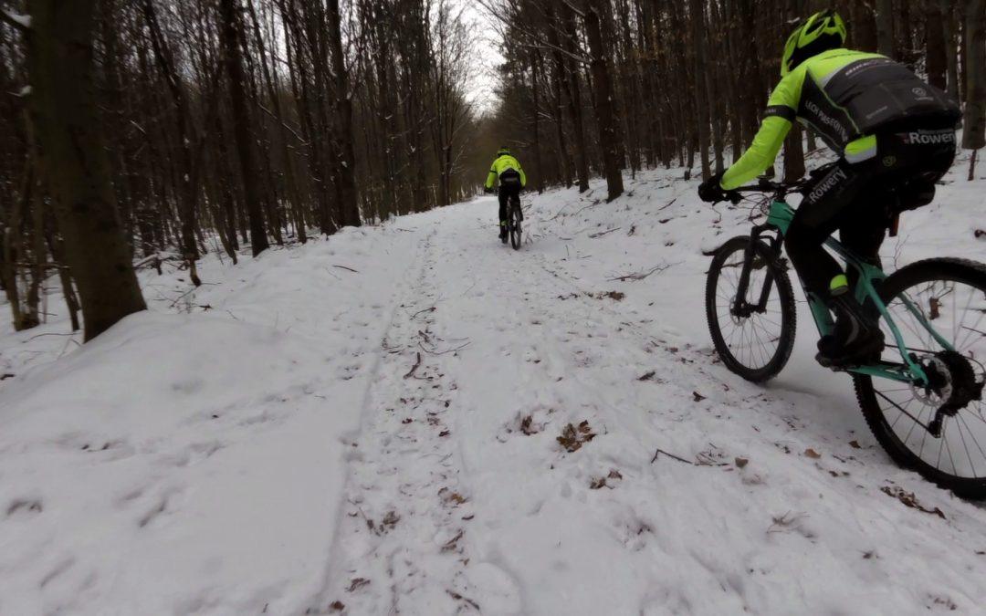 Niedzielny trening po lodzie i śniegu